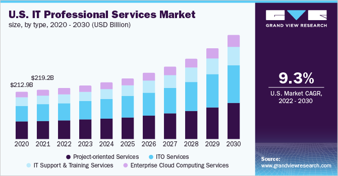 U.S. IT professional services market